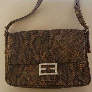 Snake/ Gator print handbag